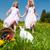 bambini · easter · egg · hunt · uova · prato · primavera · Pasqua - foto d'archivio © kzenon