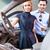 asiático · casal · escolher · luxo · carro - foto stock © Kzenon
