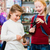 Two kids buying toys in toy store  stock photo © Kzenon