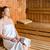 kadın · sağlıklı · yaşam · demleme · sauna · spa - stok fotoğraf © kzenon
