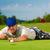 jogador · de · golfe · golfball · sapatos · vertical · tiro - foto stock © kzenon