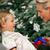 joven · Navidad · presente · árbol · nina · ninos - foto stock © kzenon