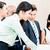 equipo · de · negocios · reunión · Asia · caucásico · negocios - foto stock © Kzenon