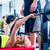 vrouw · bank · druk · gymnasium · beter - stockfoto © kzenon