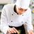 kucharz · ryb · tablicy · restauracji - zdjęcia stock © kzenon