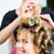 vrouwen · kapper · haren · stilist · vrouwelijke · klant - stockfoto © kzenon