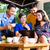 grupo · jóvenes · Asia · Cafetería · amigos · colegas - foto stock © kzenon