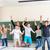 教師 · 学生 · 学校 · クラス · 成功した · ジャンプ - ストックフォト © Kzenon