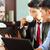 人 · コーヒー · オフィス · 会議 · ビジネス · 幸せ - ストックフォト © kzenon