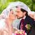 wedding · bacio · parco · lo · sposo · sposa - foto d'archivio © kzenon