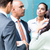 equipo · de · negocios · informal · reunión · oficina · negocios · mujer - foto stock © kzenon