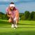 feminino · jogador · de · golfe · mulher · horizontal - foto stock © kzenon