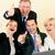 ビジネスチーム · 祝う · 勝利 · ビジネス · オフィス - ストックフォト © kzenon