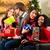 barátok · karácsony · ajándékok · szatyrok · bevásárlóközpont · diverzitás - stock fotó © kzenon