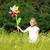coloré · jouet · herbe · verte · bois · amusement · rouge - photo stock © kzenon