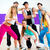 Dancer at Zumba fitness training in dance studio stock photo © Kzenon