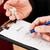Vereinbarung · Business · Stift · Gläser · Finanzierung · Dokument - stock foto © kzenon