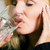болеутоляющее · женщину · головная · боль · воды · стекла - Сток-фото © Kzenon