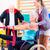 リハビリテーション · 療法 · トレーナー · 男 · フィットネス - ストックフォト © Kzenon
