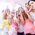 group of women on baby shower party having fun stock photo © kzenon