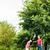 Coppia · verde · palla · senior - foto d'archivio © kzenon