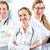 medische · team · bespreken · verslag · ziekenhuis - stockfoto © kzenon