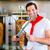 kebap · plaka · ayarlamak · tablo · restoran · ekmek - stok fotoğraf © kzenon