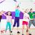 crianças · dança · classe · crianças · moderno · grupo - foto stock © kzenon