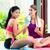 kobiet · znajomych · relaks · fitness · wykonywania · asian - zdjęcia stock © Kzenon