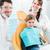 criança · odontologia · foto · pequeno · menina · abrir - foto stock © kzenon
