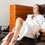 mulher · robe · adormecido · mulher · jovem - foto stock © kzenon