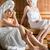 kadın · sağlıklı · yaşam · spa · sauna · demleme - stok fotoğraf © Kzenon