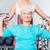 fitness · centrum · trener · starszy · kobieta · wykonywania - zdjęcia stock © kzenon