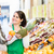 woman buying groceries at farmers market stand stock photo © kzenon