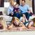 papa · jouer · heureux · affectueux · famille · extérieur - photo stock © kzenon