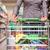 jonge · vrouw · supermarkt · naar · vrouw · jeans - stockfoto © kzenon