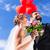 amoroso · casal · balões · parque · feliz · mãe - foto stock © kzenon