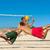 amigos · jogar · praia · voleibol · esportes · mulher - foto stock © kzenon
