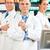 Team of pharmacists in pharmacy stock photo © Kzenon