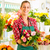 female florist in flower shop stock photo © kzenon