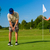 man · spelen · golf · club · business · sport - stockfoto © kzenon