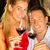 paar · proeverij · wijnkelder · vruchten · veld · fles - stockfoto © kzenon