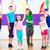fitness · dance · zumba · klasy · aerobik · kobiet - zdjęcia stock © kzenon
