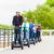 Tourist group driving Segway at sightseeing tour stock photo © Kzenon