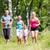 rodziców · dzieci · sportu · uruchomiony · wraz · na · zewnątrz - zdjęcia stock © kzenon