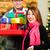 pár · vásárlás · karácsony · ajándékok · szatyrok · bevásárlóközpont - stock fotó © kzenon