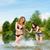 strand · leuk · vakantie · zorgeloos · vrouw - stockfoto © kzenon