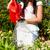gardening in summer   woman watering flowers stock photo © kzenon