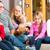 dalsza · rodzina · posiedzenia · sofa · człowiek · dziecko · domu - zdjęcia stock © kzenon