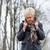 nő · bánat · depresszió · portré · vonzó · érett · nő - stock fotó © kzenon